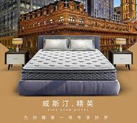 威斯汀酒店精英版!1.8x2m AIRLAND 雅兰 高筒独袋弹簧乳胶床垫