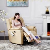 历史低价!CHEERS 芝华仕 K213 真皮电动单人沙发