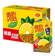 源自港茶餐厅的风味!2件x16盒x250ml!维他 低糖柠檬茶饮料