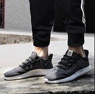 小编同款,Adidas 三叶草 Tubular Shadow 简版椰子 男女情侣运动跑步鞋