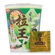 部分地区有货,NISSIN 日清 拉王 九州黑蒜油豚骨风味 方便面 80g