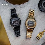 限定款、库存25件!Casio 卡西欧 G-Shock 男士太阳能腕表 GMW-B5000GD-1PR