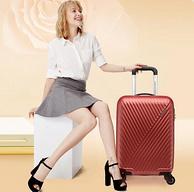 小神价:20寸 American Tourister 美旅 AX9 万向轮拉杆箱 砖红色