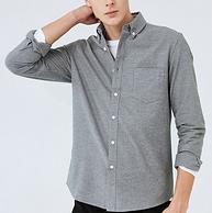 降40元!商场同款!秋季新款 马克华菲  男士纯棉长袖衬衫