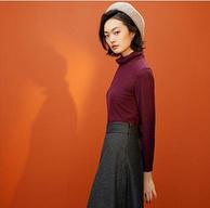 优衣库制造商:Maxwin 马威 女士保暖高领针织衫 多色可选