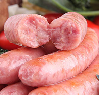 纯猪肉无淀粉,台诚 台式纯肉香肠 250gx3盒
