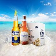 科罗娜+福佳 啤酒 混搭礼盒装 330ml*12瓶