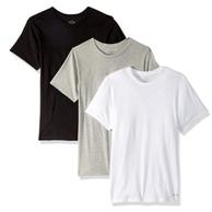 Calvin Klein 卡尔文·克莱恩 男式 棉质经典短袖圆领T恤3条
