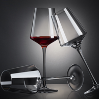 雅典娜 350ml 无铅玻璃 红酒杯 4只装