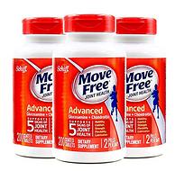 今日结束,缓解关节疼痛:美国 MoveFree 维骨力 200粒*3 红盒软骨素