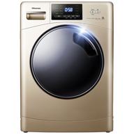 12年保修:Hisense 海信 HG100DAA125FG 10公斤 滚筒洗衣机