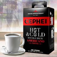 马来西亚进口 奢斐 美式无糖速溶黑咖啡100条
