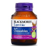 改善食欲:60片x2瓶 Blackmores 澳佳宝 小超人多元维生素咀嚼片