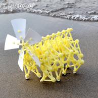 风力仿生兽机器人模型玩具 80金币晒单