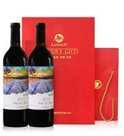 智利原瓶进口! LAVINUM 瑞雅 赤霞珠干红葡萄酒 2支x750ml