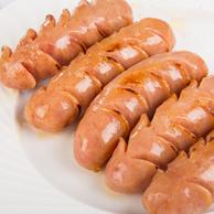 纯肉无淀粉,柏慧食品 纯肉香肠3斤