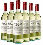 5件x6瓶x750ml Rawson's Retreat 洛神山庄 赛美蓉长相思干白葡萄酒