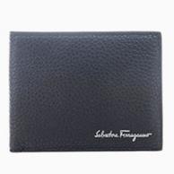 11日0點:Salvatore Ferragamo 菲拉格慕 男士牛皮短款錢包