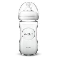 AVENT 新安怡 宽口径自然原玻璃奶瓶 240ml