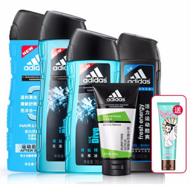 3小時結束:adidas 阿迪達斯 男士洗護套裝x3件