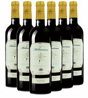 法国原瓶进口!掌舵者 干红葡萄酒 6瓶x750ml