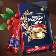 0点:2件*40条 美国 麦斯威尔 三合一速溶咖啡14g