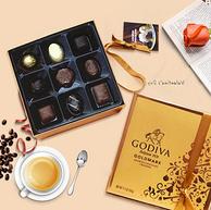 今日结束:316g*2盒 GODIVA 歌帝梵 金装27颗混合味巧克力礼盒装