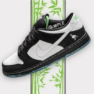 9点:Nike 耐克 Staple x Nike SB Dunk Low 男子滑板鞋