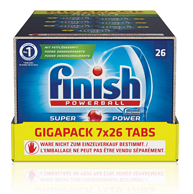 亚马逊销量第一、182块:Finish 亮碟 ALL IN 1系列 多效合一洗碗块