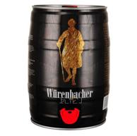 Plus会员:德国进口 Würenbacher 瓦伦丁 黑啤 5L *3件