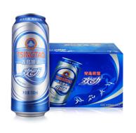 TSINGTAO 青岛啤酒 欢动啤酒 7度 500mlx12听x8件
