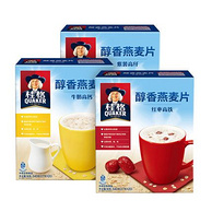 桂格 牛奶/红枣/紫薯 即食燕麦片 2盒x540g