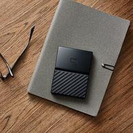 WD 西部数据 2.5英寸 移动硬盘 4TB 经典黑 769元包邮