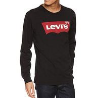 李维斯 Levis 经典大Logo印花长袖T恤