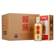 茅台 赖茅 金樽 酱香型白酒 53度 6瓶x500ml