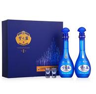 洋河 2瓶x500ml 蓝色经典 梦之蓝 M6  52度  礼盒装