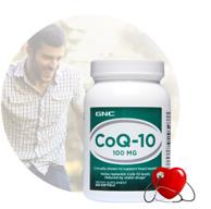 心脏活力之源:300粒/瓶  GNC 健安喜 辅酶Q10胶囊