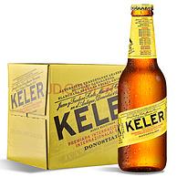 西班牙原装进口 KELER啤酒 250mlx12瓶x3件