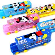 正版授权、开学必备:迪士尼 儿童多功能铅笔盒
