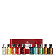 Molton Brown 沐浴露圣诞礼盒 10瓶x50ml 27.3英镑凑单到手约203元