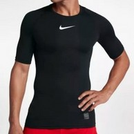2件 Nike 耐克 Nike Pro 男士 短袖训练紧身衣