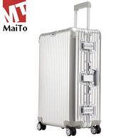 航空级全铝镁合金:Maito 拉杆箱 20寸