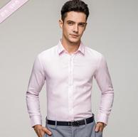 100%纯棉:罗蒙 男士长袖商务衬衫