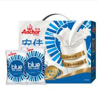 新西兰进口:1kgx2包 x2件 Anchor 安佳 成人全脂奶粉礼盒装