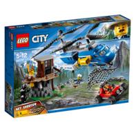 評價18w,99%好評:LEGO 樂高 城市組系列 60173 山地特警空中追捕積木
