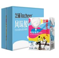 2件 奥地利进口 Lacheer 兰雀 原味 常温酸奶200g*24瓶