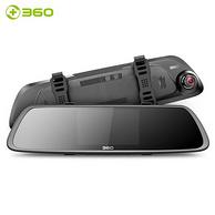360 M301 后视镜行车记录仪 黑色