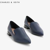 Charles&Keith 女士 尖头低跟单鞋