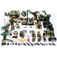 795颗粒+16个军人公仔:GUDI 古迪 猎虎行动系列 8038 猎虎行动 8盒