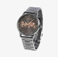 COACH蔻驰 GRAND系列 经典马车 女士石英手表